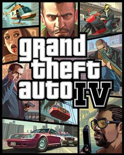 GTA 4 Packshot