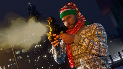 GTA Online - surprise festive - 1