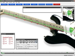 GuitarVision screen 1