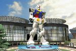 gundam-statue-anniversaire-playstation-home-japon