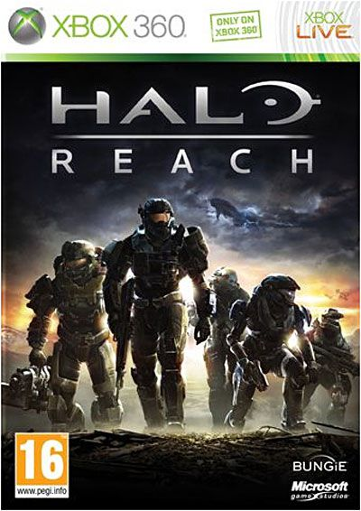 Halo Reach - Jaquette