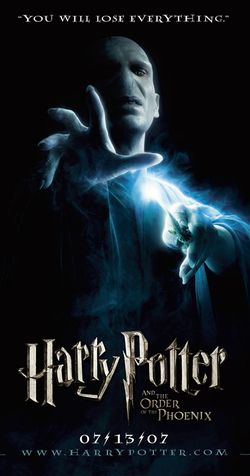 Harry potter ordre phoenix poster