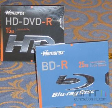 Hd dvd blu ray memorex