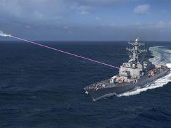 Helios laser US Navy.