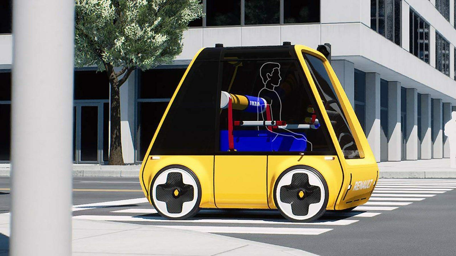 Hoga voiture électrique IKEA