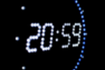 Horloge LED