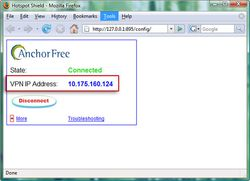 Hotspot Shield screen1