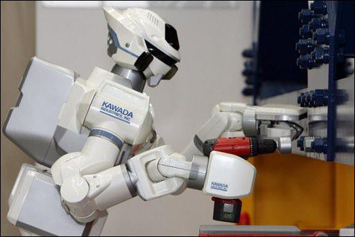 Hrp 3 Promet Mk Ii Un Robot Court Sur Pattes Mais Costaud