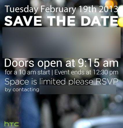 HTC M7 invitation