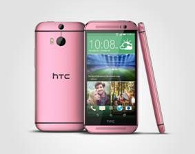 HTC One M8 rose