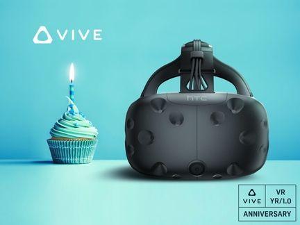HTC Vive anniversaire.