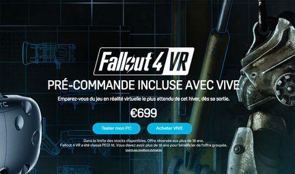 HTC Vive Fallout 4 VR