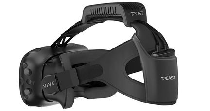 HTC Vive wireless tpcast