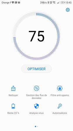Huawei P10 entretien