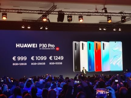 Huawei P30 Pro prix