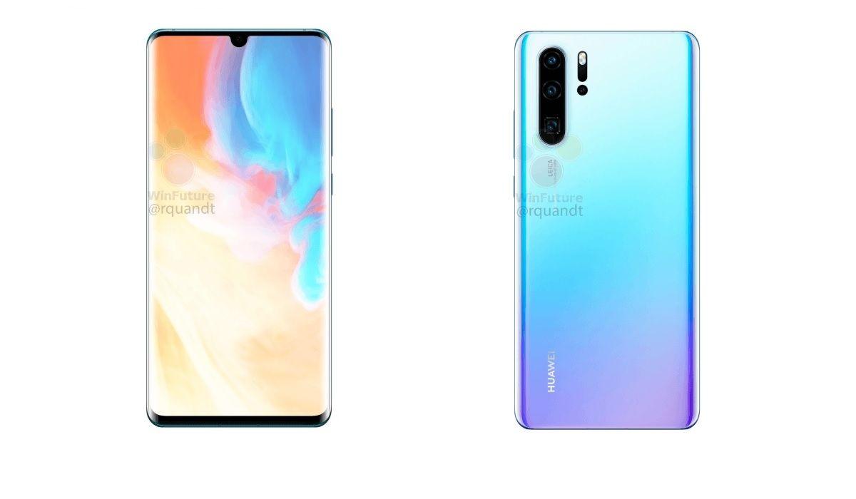 Oups ! Huawei publie par erreur des fiches marketing de sa gamme P30
