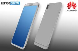 Huawei smartphone coulissant