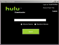 Hulu Downloader screen1