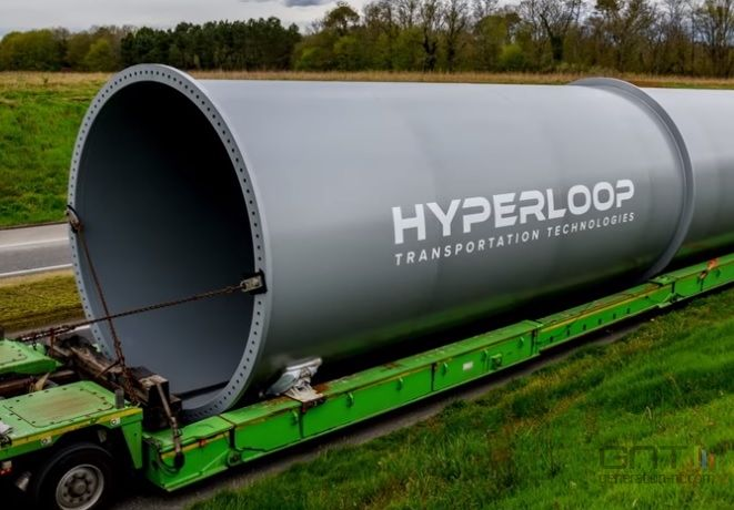 Hyperloop TT tube