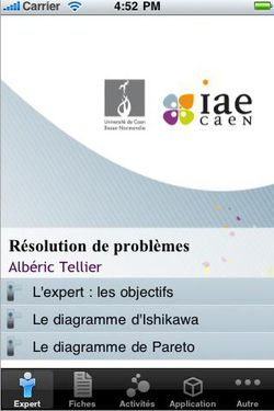 IAE Caen elearning iPhone 02