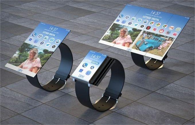 IBM montre tablette