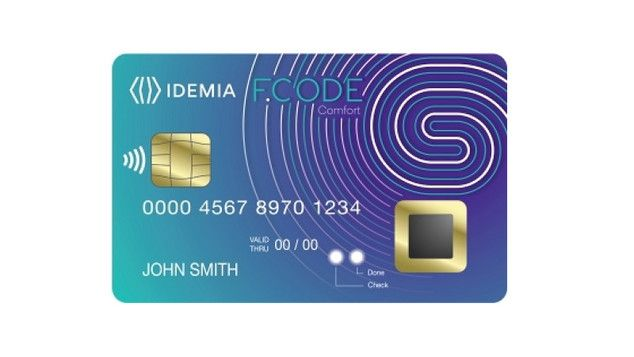 Idemia carte bancaire empreintes