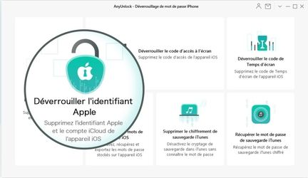 identifiant Apple AnyUnlock
