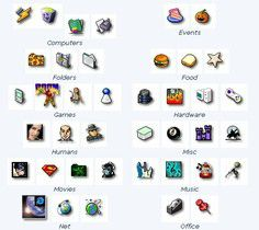 iDev Icon Collection screen