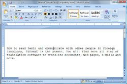 IdiomaX Office Translator screen2