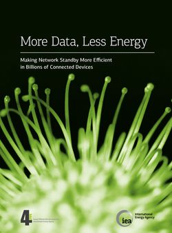 IEA More Data Less Energy