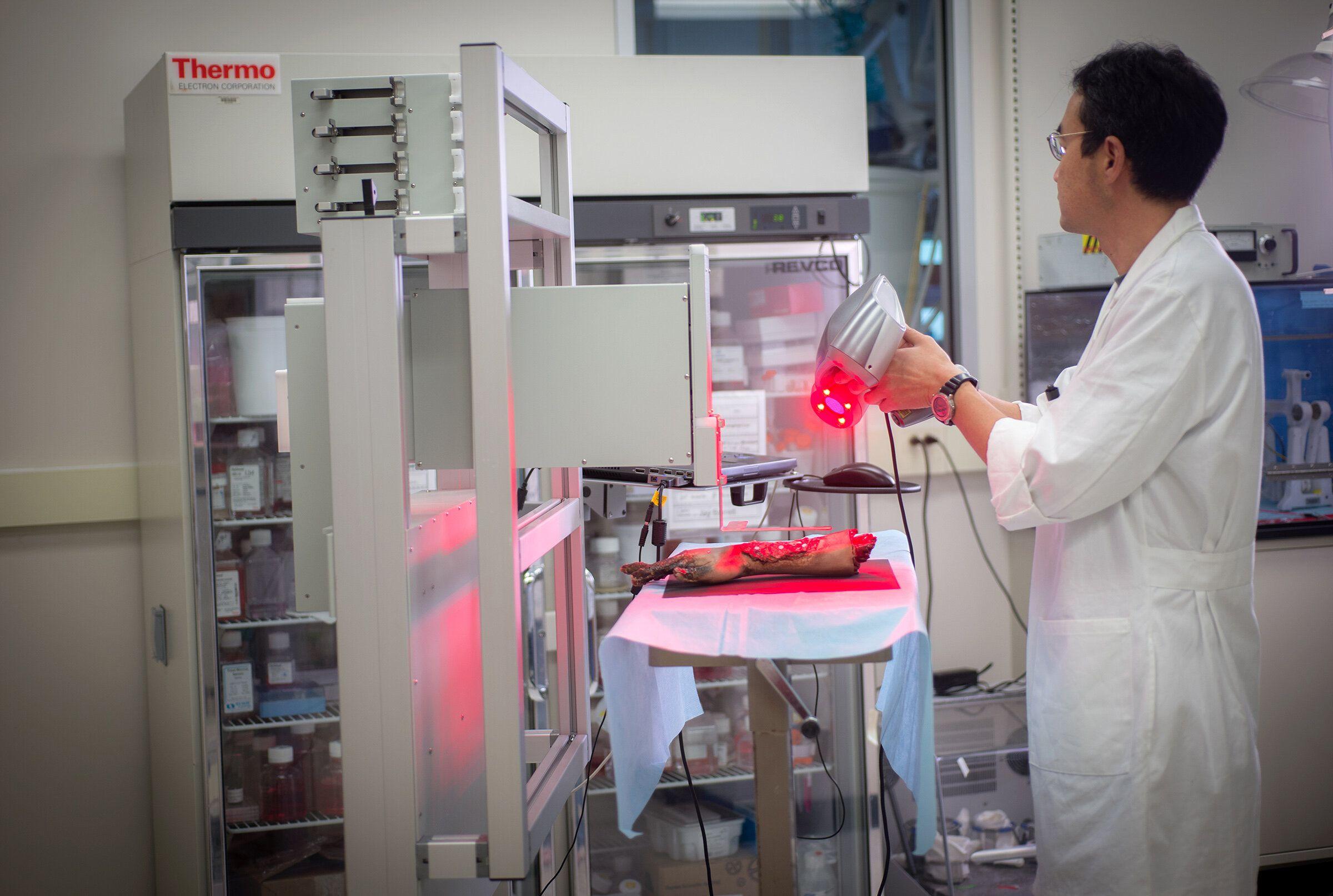 Impression 3D : des chercheurs impriment de la peau humaine directement sur les plaies
