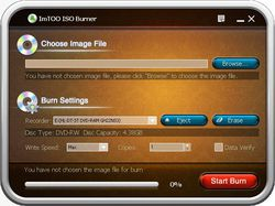 ImTOO ISO Burner screen 1