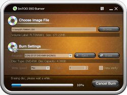 ImTOO ISO Burner screen 2