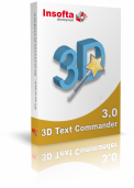 Insofta 3D Text Commander