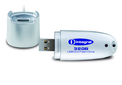 Integral 32GB Silver USB Flash Drive