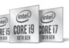 Intel Core 10ème génération série H : les processeurs mobiles Comet Lake officialisés