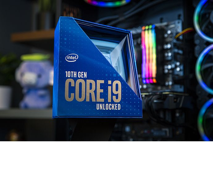 Intel Core i9-10900K : déjà overclocké à 5,4 GHz sur ses 10 coeurs
