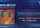 Intel Ice Lake diagramme