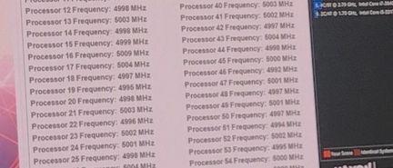 Intel processeur 28 coeurs 5 GHz