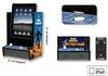 Tablette iPad transformée en borne d'arcade Space Invaders