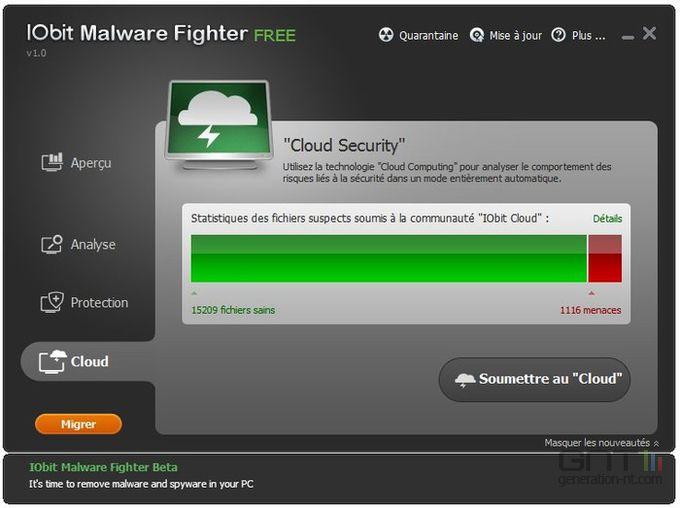 IObit Malware Fighter screen2