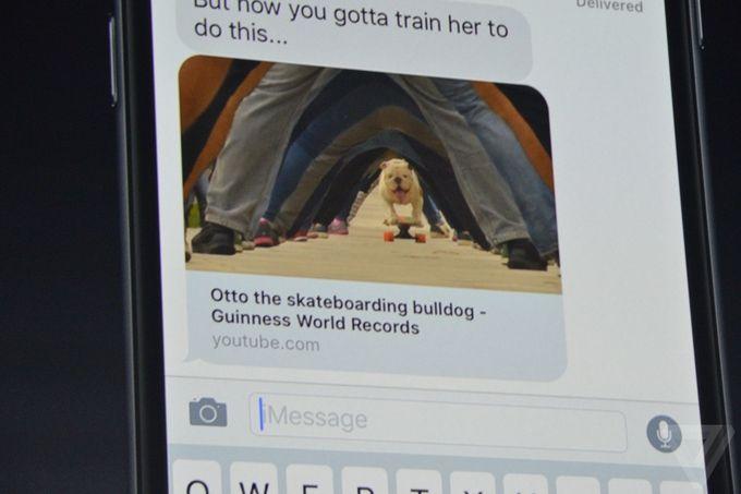 iOS 10 iMessage video