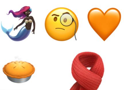 iOS 11 emoji