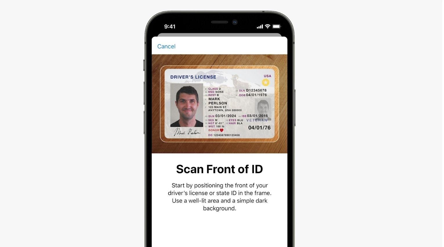 iOS 15 Wallet