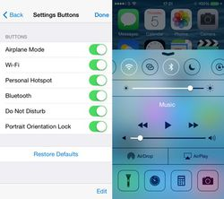 iOS 8 fonction cachée