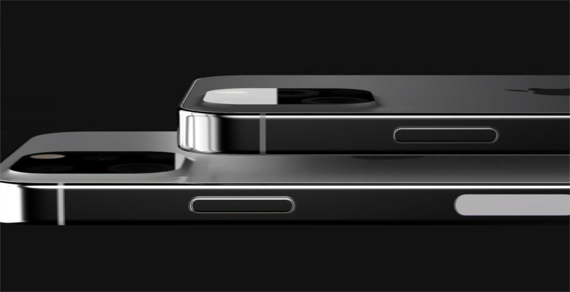 L'iPhone 13 s'affiche dans un premier rendu