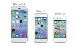 iPhone 5.7 comparatif