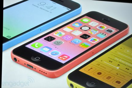 iPhone 5C red