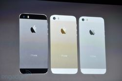 iPhone 5S coloris