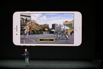 iPhone 8 realité augmentée